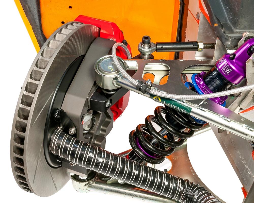 Brake Cooling Air Ducts V6 GT Uprights -40mm | EliseParts