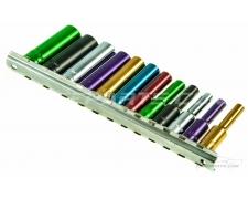 """1/4"""" Drive Multi Colour Socket Set"""