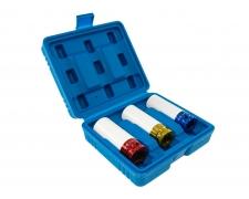 3 Piece Wheel Nut Socket Set