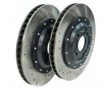 S2 / S3 308mm Cross Drilled Discs & Bells