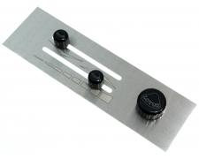 Black Aluminium Heater Panel & Controls