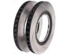 Curved Vane Directional Brake Disc Rotors