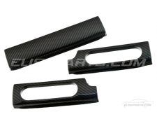 Carbon Fibre 3 Piece Dash Inserts S1