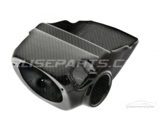 Laquered Carbon Fibre Column Shroud S1