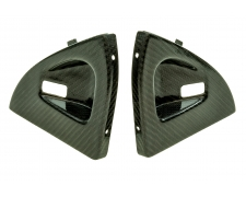 Carbon Fibre Interior Door Handle Trims S1