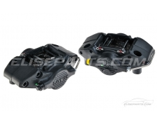 Lotus AP 2 Pot Black Brake Calipers