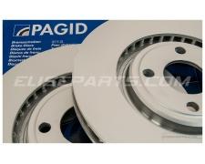 Pair of Pagid Brake Discs S1