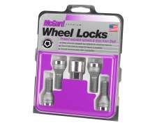 S2 / S3 Silver Locking Wheel Bolts