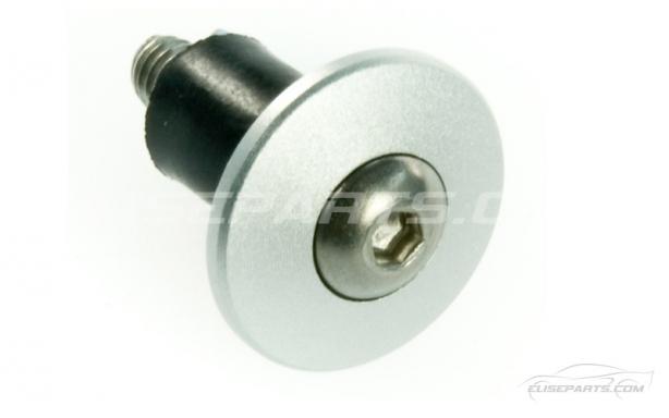 Satin Silver Aluminium 16mm Panel Fixings Image