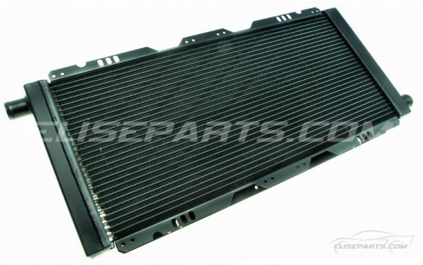 Black Aluminium Upgraded Radiator Image