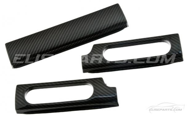 Carbon Fibre 3 Piece Dash Inserts S1 Image