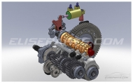 6 Speed Sequential Gearbox Image