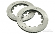 2 x EP Racing 308mm Drilled Brake Disc Rotors Image