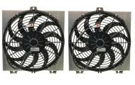 Lotus ExigeV6 Twin Alloy Fan Kit Image