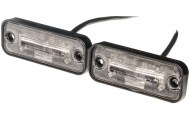 2 X LED Number Plate Lamps Image