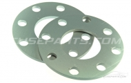 S1 & S2 Wheel Spacers 3mm & 5mm. Image
